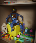 Abandoned Robot by mission-vao