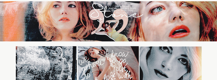 TIMELINE: Emma Stone by weaknessgraphics