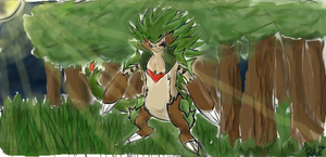 Thorncupin chespin evolution by roblee96
