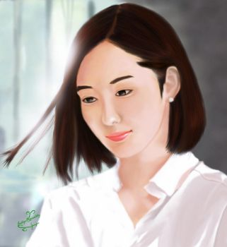 Park Min-Young by IndigoRavenlily