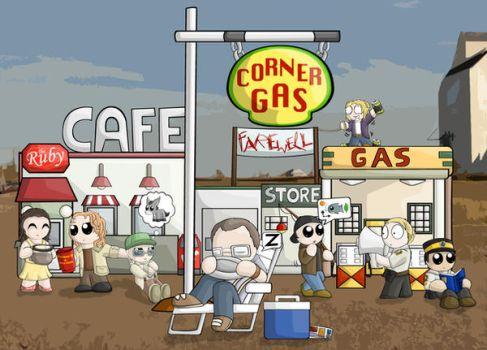 Corner Gas Poster ContestEntry by RedPawDesigns