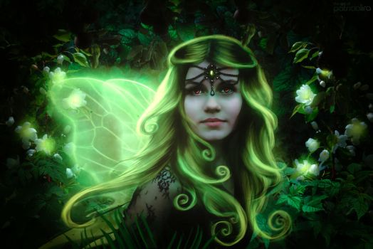 Green fairy by PatriciaLira