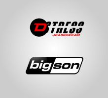 dstress and bigson logo by blue2x