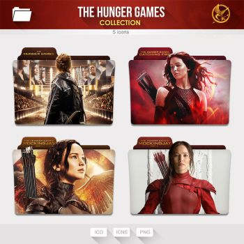 The Hunger Games Collection [Folders] by limav
