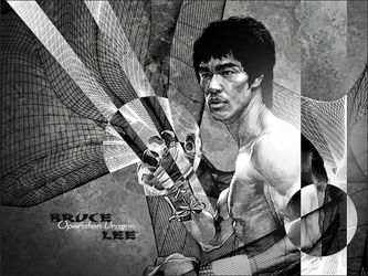 Bruce Lee Operation Dragon by Kelkun94