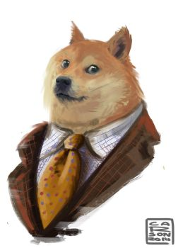 Mr. Doge by Cyborg-Panda