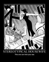 Stereotypical Housewife by LittleDragonWings