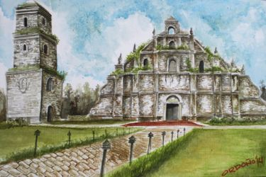 Paoay Church by migzmiguel08