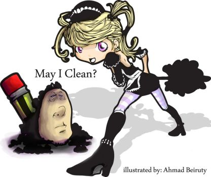 may i clean? by Akkurio