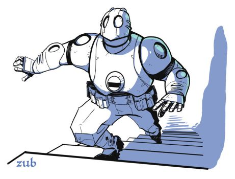 Atomic Robo by Zubby