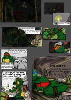 TMNT Comic Not In This Time page 1 by CrickleReeRee