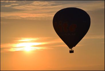 Sailing on hot Air by FrankAndCarySTOCK