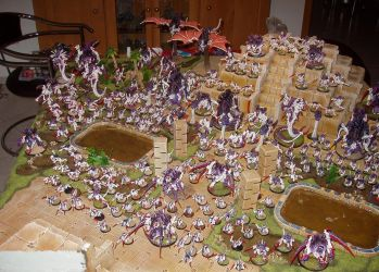 Tyranid Army by Inquisitor-Hein