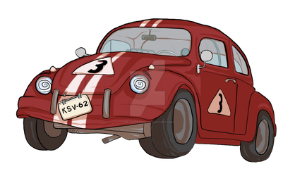 Character Desing: Car nr. 3 by mettetettee