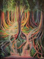 Colourful Forest by Marybriannemckay