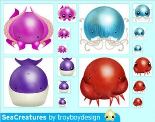 SeaCreatures by troyboydesign