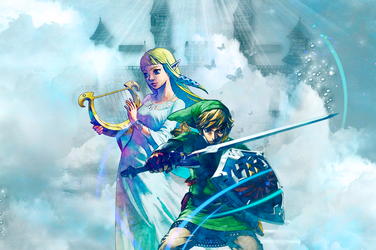 Castles in the Sky - Zelink by Dark-Palace