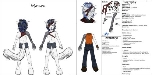 Reference - Mourn by kyan