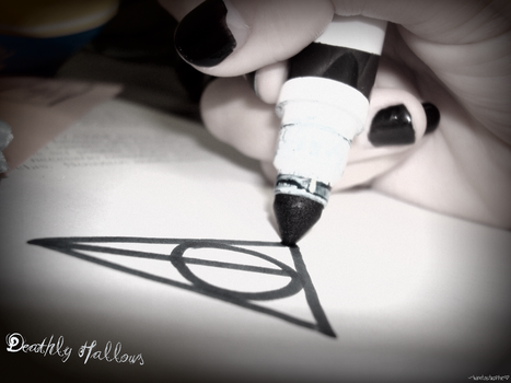 Deathly Hallows by NeonBunneh