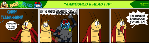 B'n'F - Armoured and Ready IV by BluebottleFlyer