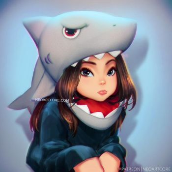 PUN baby Shark by NeoArtCorE