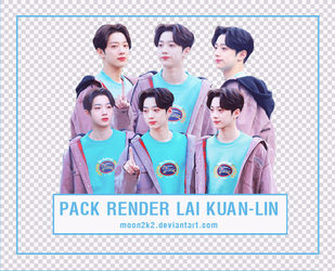 ( PACK RENDER )  LAI KUAN LIN - WANNA ONE by Moon2k2