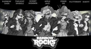 Rainbow Rocks Band Tour by Toonlancer