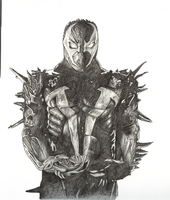 Spawn sketches by jmoneygetdown