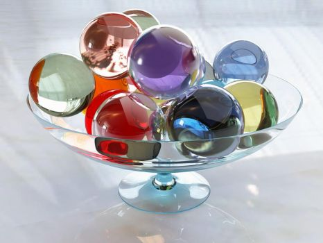 Colors in glass by Geckly