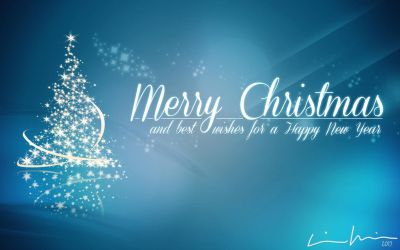 Merry Christmas Happy New Year 2015 (Wallpaper) by gamesandgigs