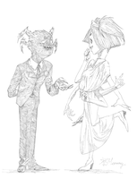 Webber and Muffet dance by Meammy