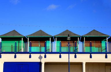 Beach Huts by tartanink