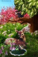 Bambi(PRINTS) by Lolita-Artz