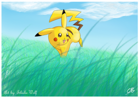 14. Smile: You are a pikachu by Tikalie-Wolf