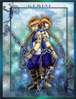 Zodiac Warrior: Gemini by Epscillion
