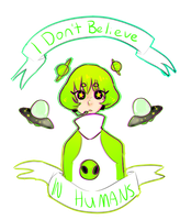 I Dont Believe in humans by guroko