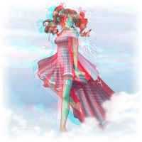Walking on Clouds, 3D ver. by Louistrations