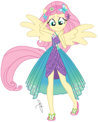 EQG Series - Fluttershy Friendship Power by ilaria122