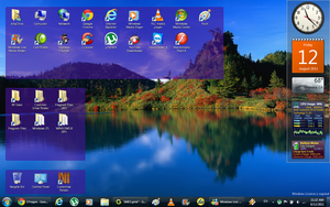 My Windows 7 Desktop by Mamamia64