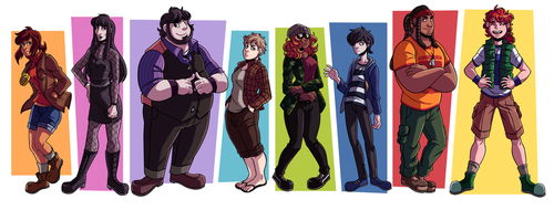 The Squad by Takeuchi15