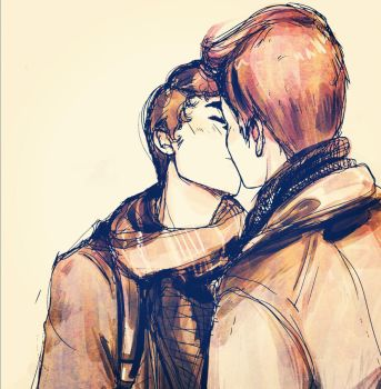 Klaine: In a place where we only say goodbye by Snowfest