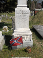 Confederate Navy grave by NickACJones