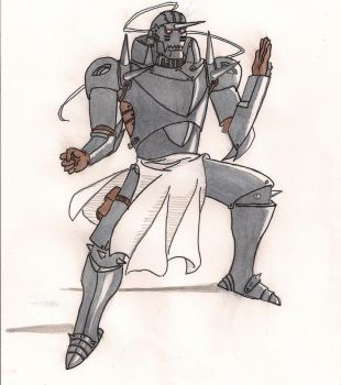 Alphonse Elric -Color- by ryruko