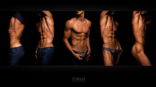 young men strip by Torsal