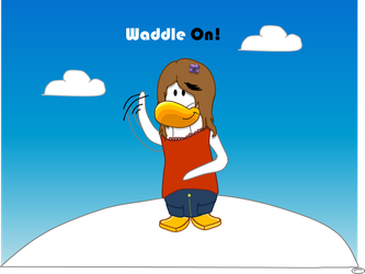 Waddle on! by Miria-7045