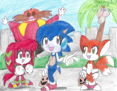 Sonic Planet by Edxtreme