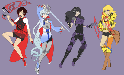 The RWBY Space AU that has yet to be done by OriSODEhime