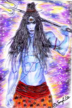 LORD SHIVA by jompiete