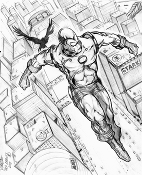 IRONMAN - FLY-BY by Hey-Abbott