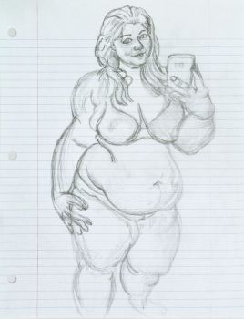 BBW Bigcuties Cherries Sketch attempt 9 Step 1 by ENT2PRI9SE